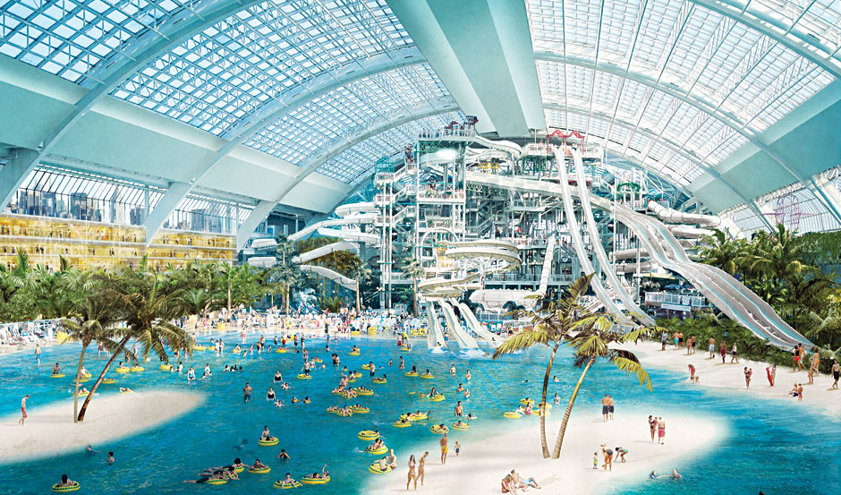 Usa Biggest Water Park Great Lodge Wolf Have