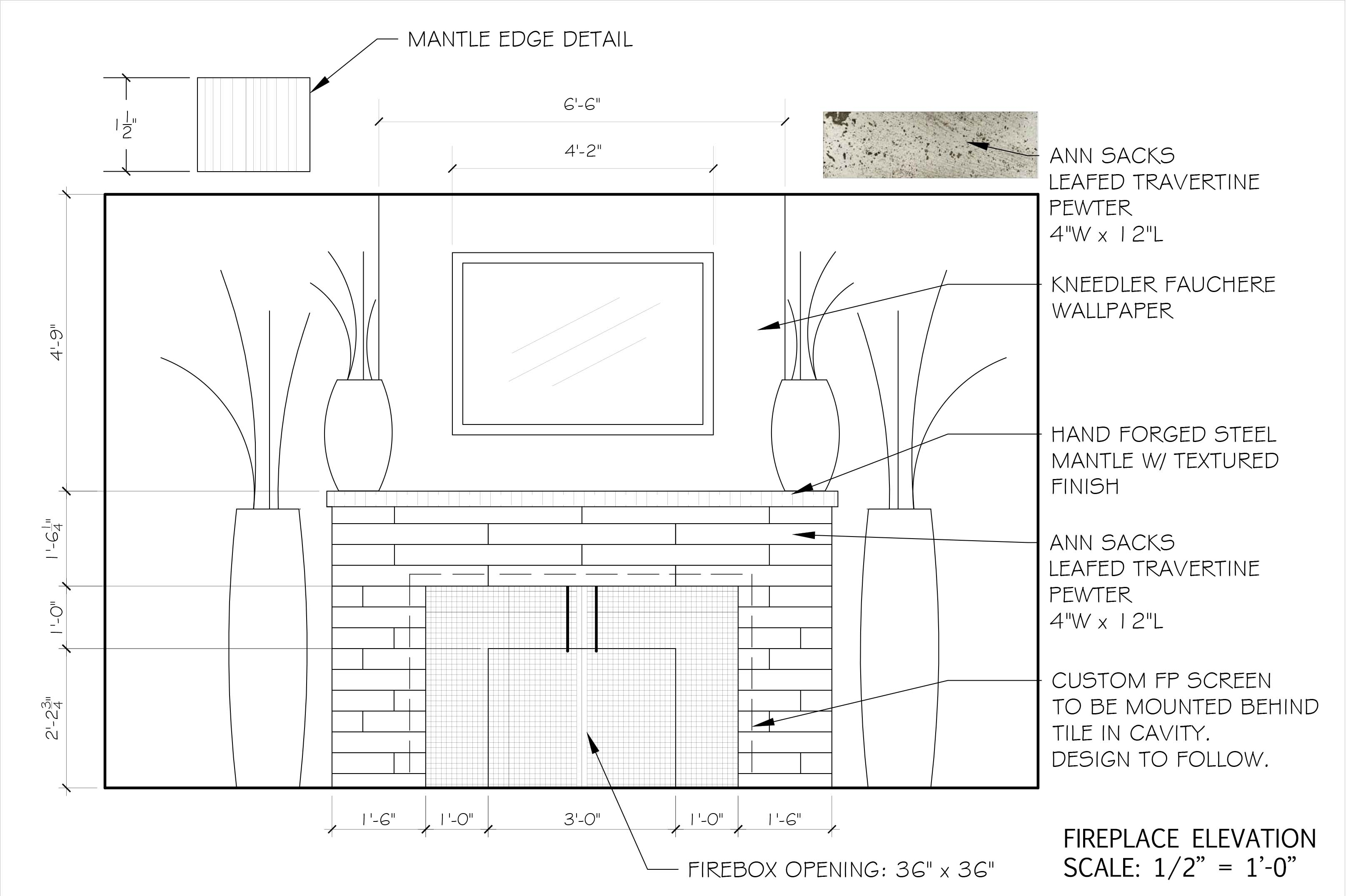 Kitchen Design Cad Drawing