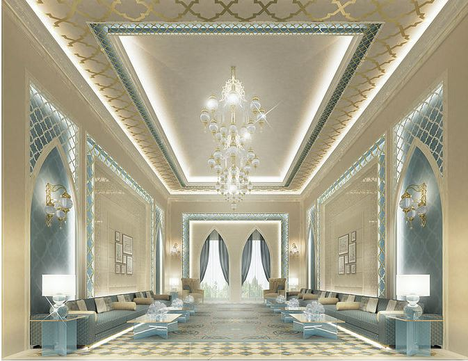Majlis Design In Contemporary Flair