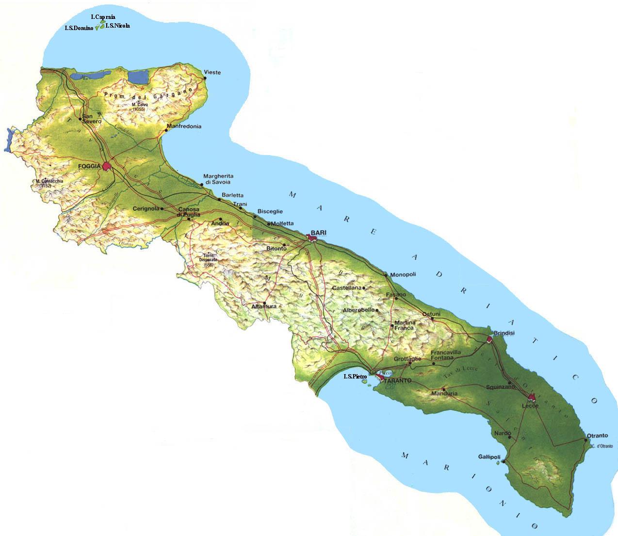 Cartina Dettagliata Puglia.Regione Puglia Al Via La Discussione Sulle Norme Per L Edilizia Arch In Geo