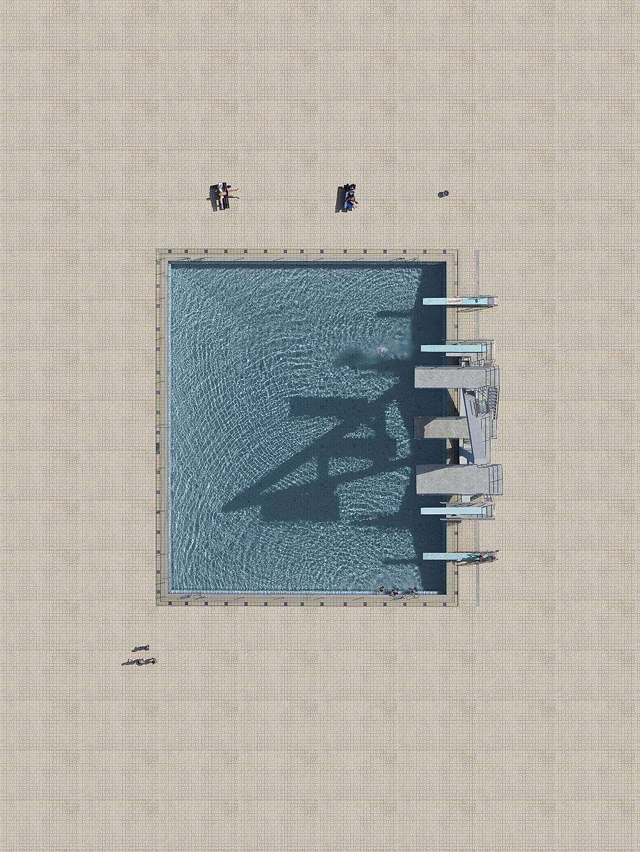 Stephan Zirwes Aerial Pools by Stephan Zirwes