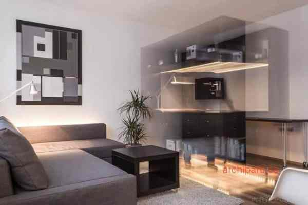 Small apartment ideas lighting