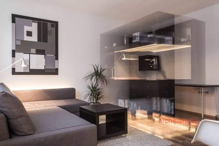 Small apartment ideas lighting