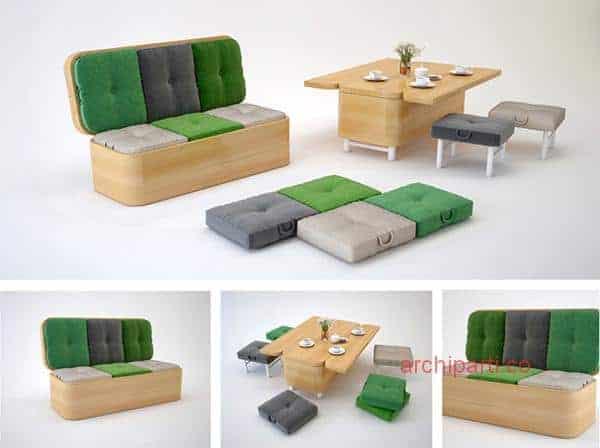 Small apartment interior design hong kong sofa and table