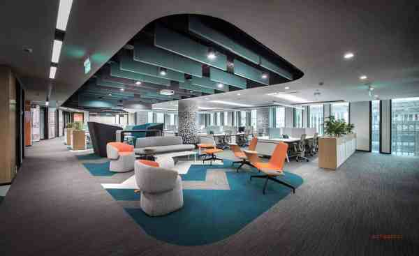 Office fit out cost Hong Kong work space