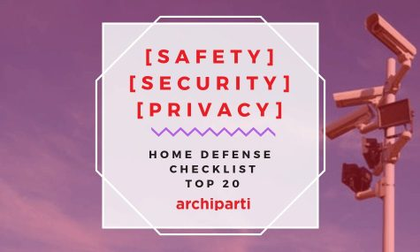2020| Safety | Security | Privacy | Home data & physical defense checklist (Top 20)