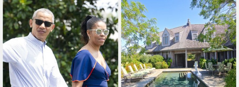 The Obamas Spent $11.75 Million Purchasing a Martha's Vineyard Mansion 2020
