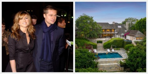 [2020] Brad Pitt and Jennifer Aniston's Newlywed Mansion Is on Sale for $44.5 Million
