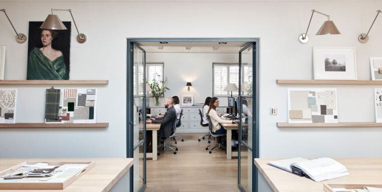 Take a Sneak Peek Into Offices of the Top Interior Designers/Architects of 2020