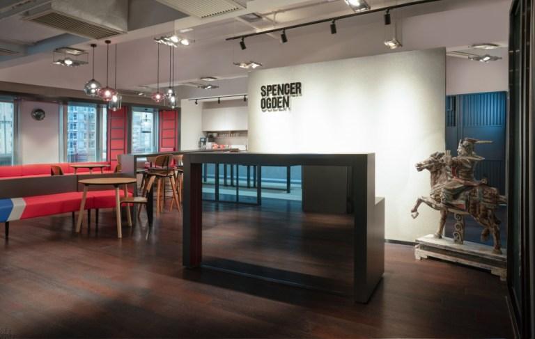 [2020年辦公室遊覽] Spencer Ogden辦公空間設計的文化意蘊