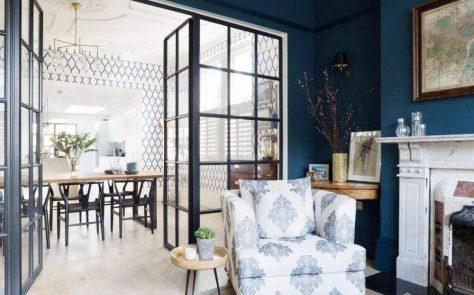 透光玻璃門間隔:你的客廳需要隔斷設計嗎?【居家風水格局2021】