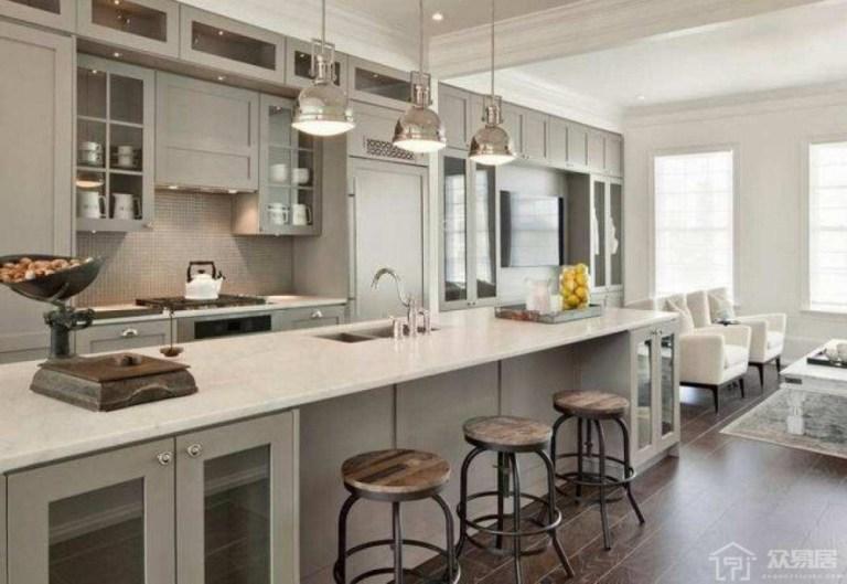 【香港開放式廚房設計2021】比較Open Kitchen裝修設計優點缺點?