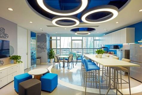辦公空間裡的健身房:這是否競爭者防止好員工離職的室內設計秘密?(2020)