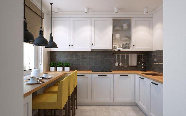 【現代簡約廚房風格2021】4個值得參考的廚櫃吊櫃設計案例