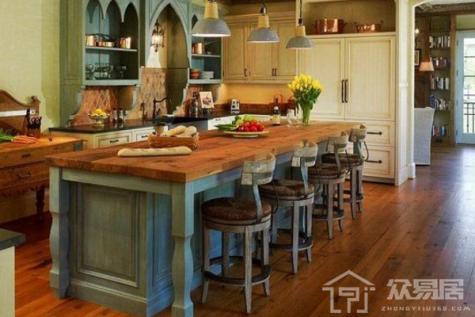 【歐美現代風格Kitchen Island設計2020】4大廚房中島台裝修配色效果圖