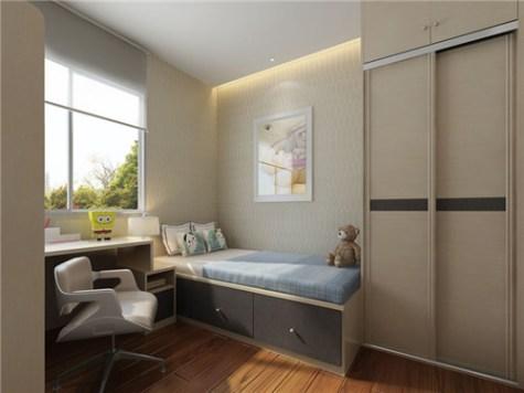 【細睡房設計2021】4個小戶型地台床裝修案例