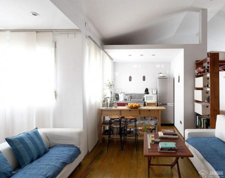 開放式vs封閉式?2020如何決定是否改建半開放式客廳廚房空間?