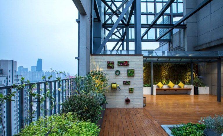 這4個屋頂花園空中花園設計重點你了解嗎?【獨立屋/村屋/別墅洋房裝修2020】