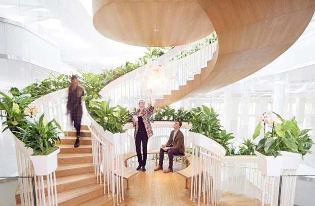 直梯還是旋轉樓梯?4個室內迴旋梯施工設計優缺點(2020)