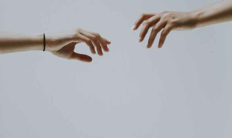 couple of hands