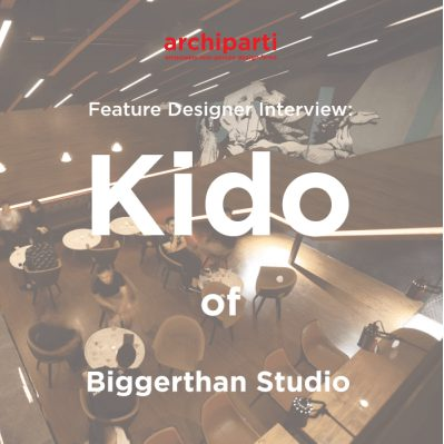 Featured Designer: RYOYU KIDO, founder of BIGGERTHAN studio 2020