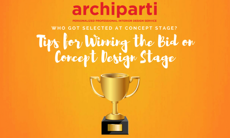 Who got selected at Concept Stage?  Tips for winning the bids on concept design stage (2020)