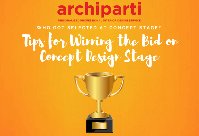 Who got selected at Concept Stage?  Tips for winning the bids on concept design stage (2021)