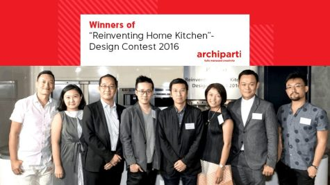 "Winners of ""Reinventing Home Kitchen""- Design Contest 2016"