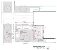 Final plans   front yard