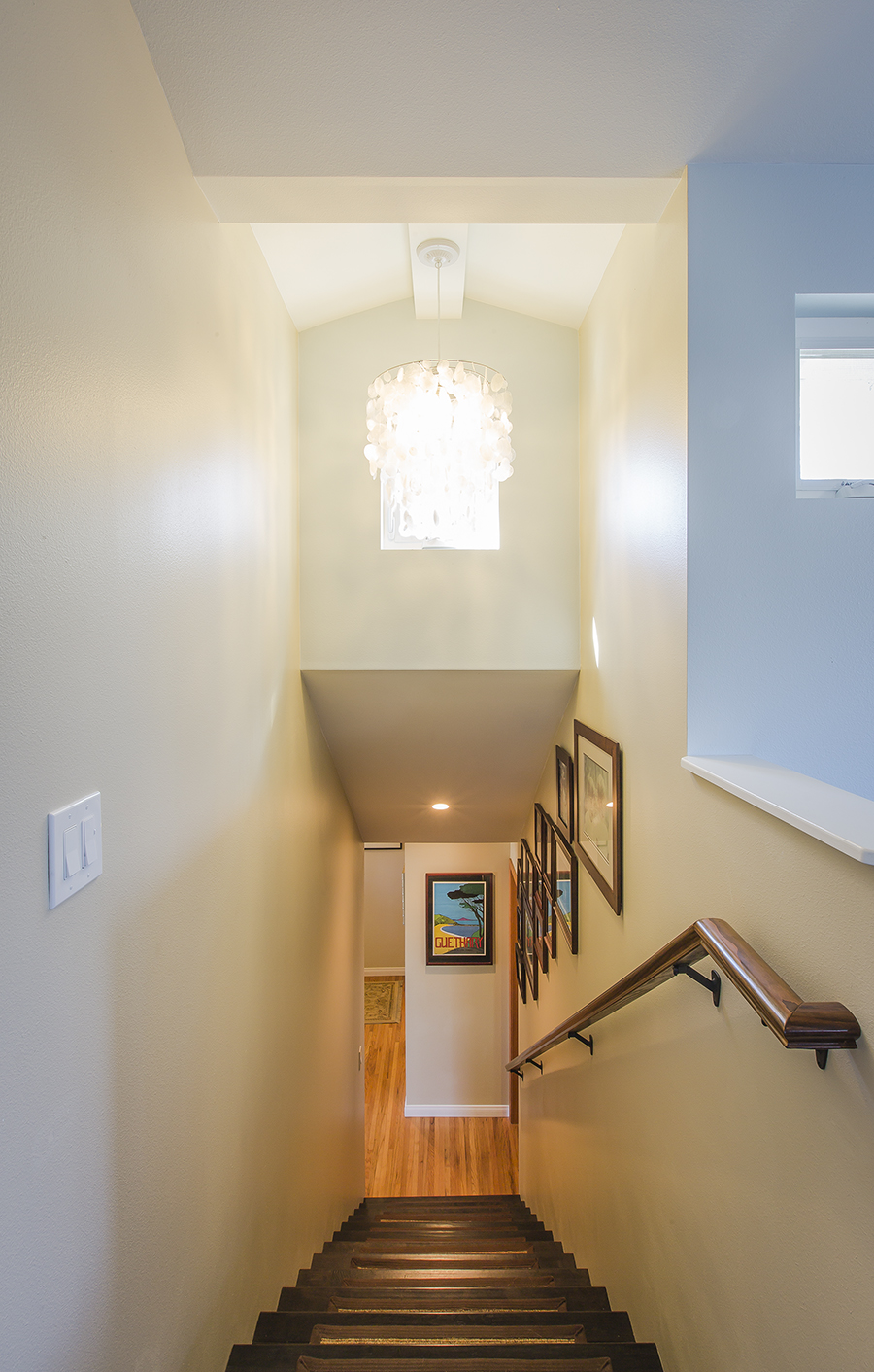 Stairs from above