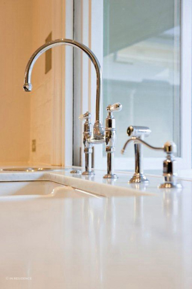 perrin rowe ionian kitchen tap with