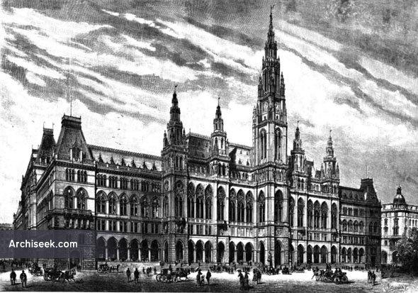 1883 - Rathaus, Vienna, Austria