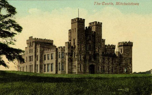 in 1823 after his succession to his title george 3rd earl of kingston demolished the previous palladian house and replaced it with a new castle designed