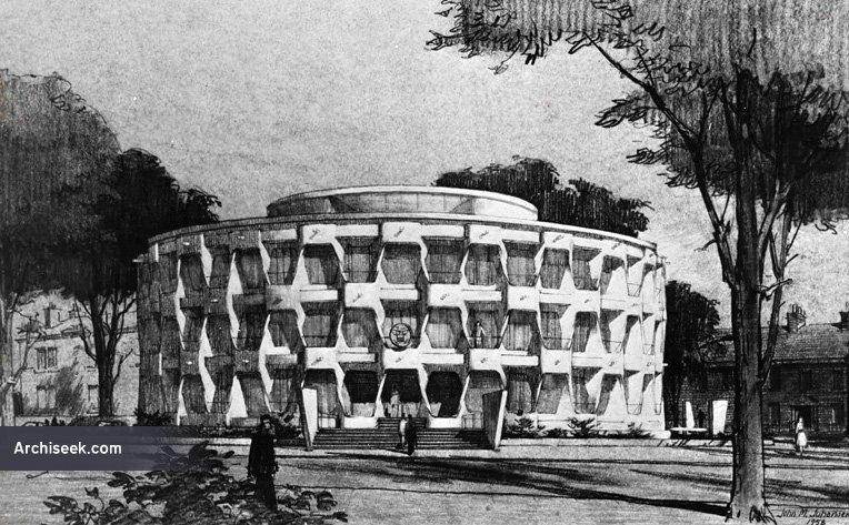 Modern Architecture Dublin 1964 - united states embassy, northumberland road, dublin