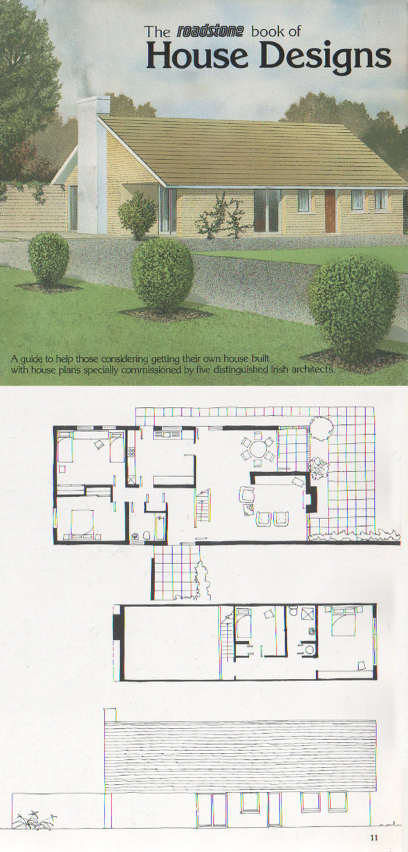 Published From The Roadstone Book Of House Designs, Produced In 1980.  Billed As U201cA Guide To Building Your Own Home With 25 New House Designs By  Reg Chandler ...