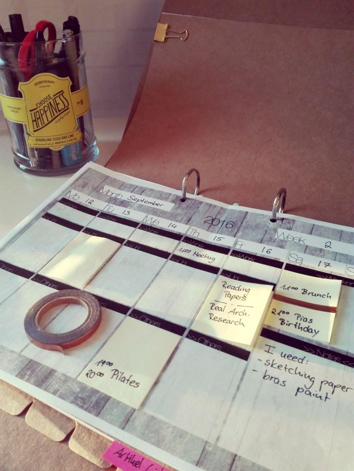 Flexible Organizer Idea