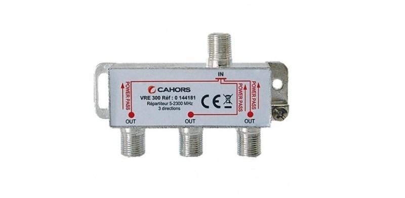 Derivación para cable coaxial