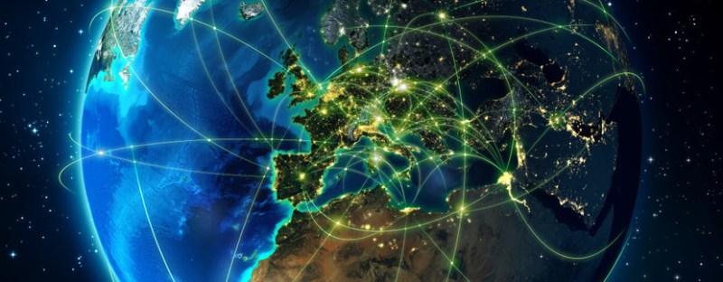 Redes en Europa (mapa)