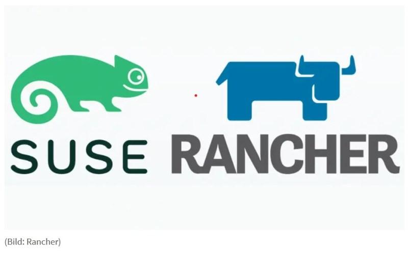 SuSE y Rancher logos