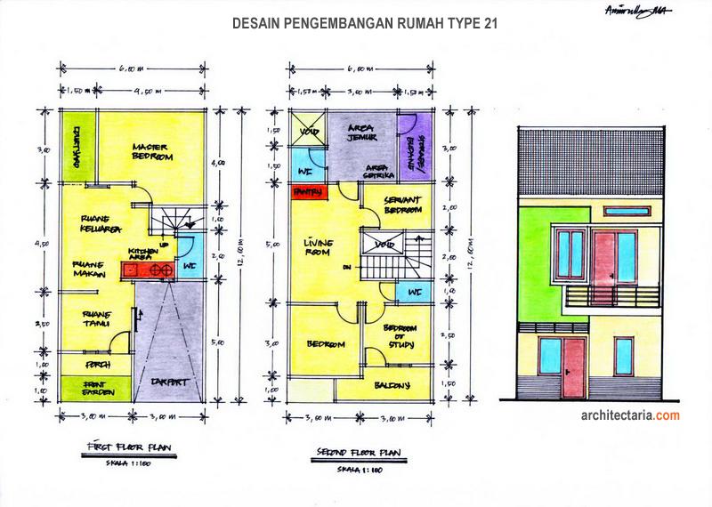 Rumah Minimalis 2 Lantai Luas Tanah 120 M2 - Rumah micromalis