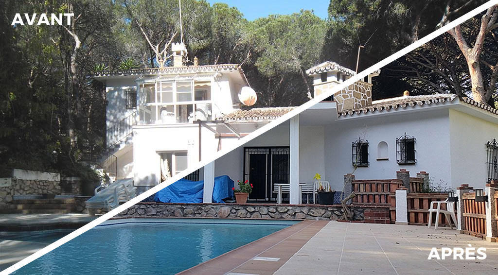 Villa J.O. piscine