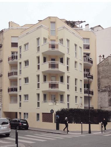 ravalement façade Ciment Paris