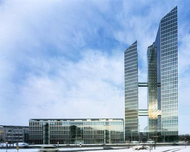 The Highlight Towers In Munich Germany