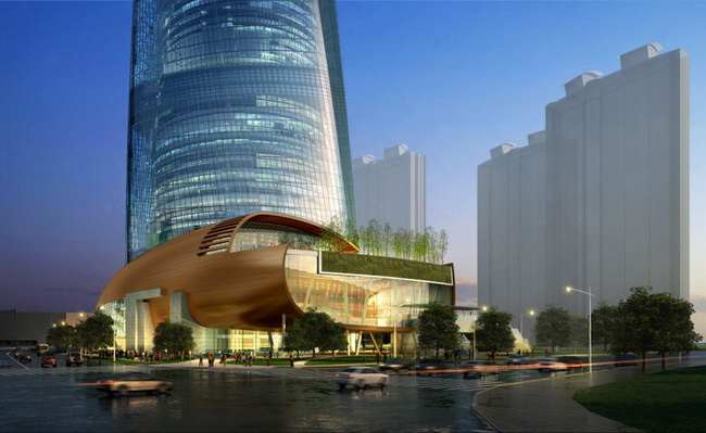 The Shanghai Tower J-Hotel Will Open In 2014
