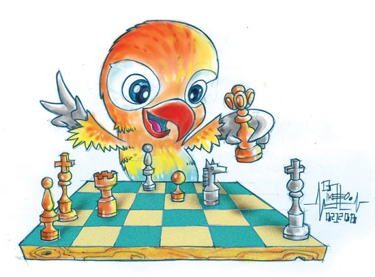 chess-bird