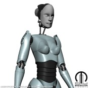 Project Female Android [Half Body Shot]