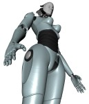Project Female Android Render B