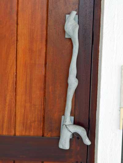 ジェフリーバワ №11 ナンバーイレブン ドアの取っ手