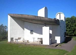 ロンシャンの礼拝堂・外観|ル・コルビュジエ建築|フランス