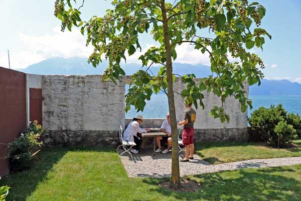 レマン湖畔の小さな家(庭)/ル・コルビュジェ建築/スイス